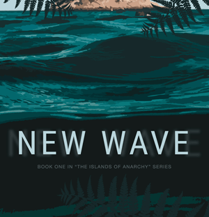 New Wave by Jennifer Ann Shore book cover standing up