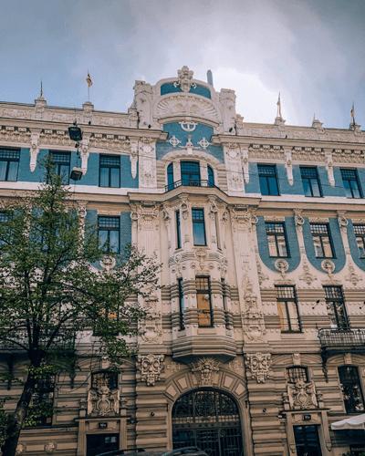 Baltics Itinerary Art Nouveau District Riga, Latvia