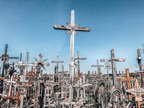 Week Long Baltics Itinerary Hill of Crosses