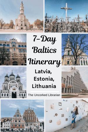 Weeklong Baltics Road Trip Pin