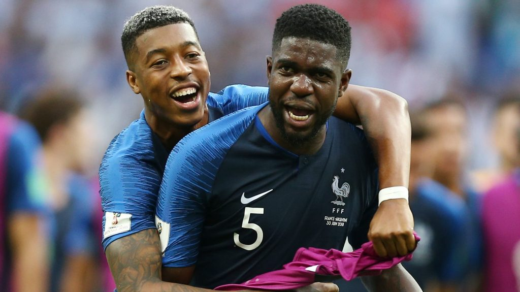 In quite a significant event for french football,. France The World Cup S Last Standing African Team