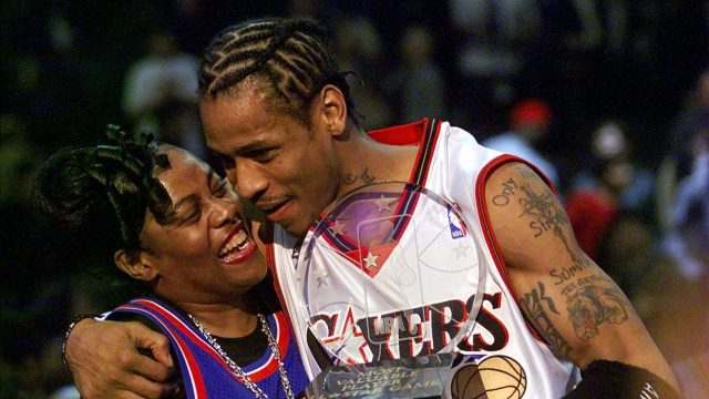 being ann iverson: 'i knew allen iverson was going to the