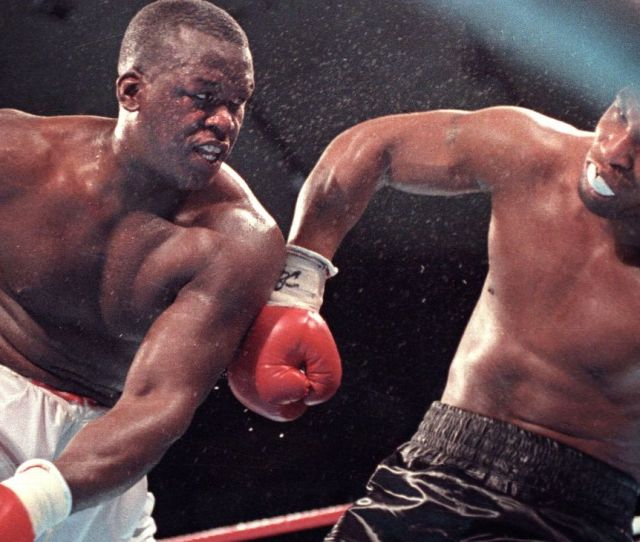 Buster Douglas I Wasnt Impressed With The Success Mike Tyson Was