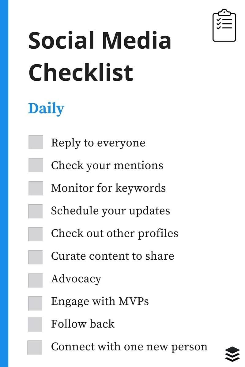 A Recruiters Social Media Checklist