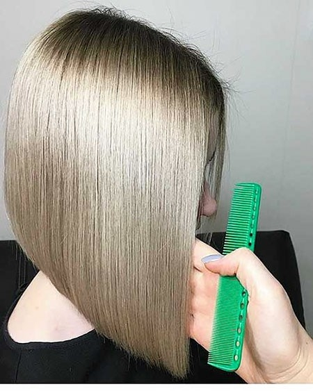 Amazing-Blonde-Hairstyle New Short Straight Hairstyles 2018