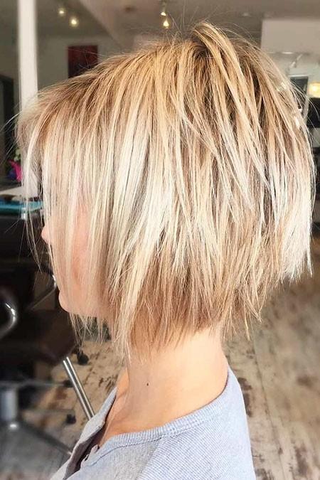 New Short Layered Hairstyles 2018