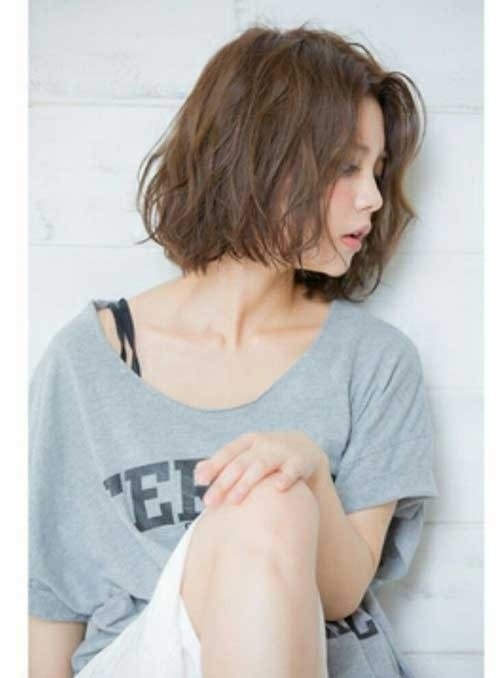 Asian-Bob-Cut Remarkable Pics of Trendy Short Hairstyles for Women