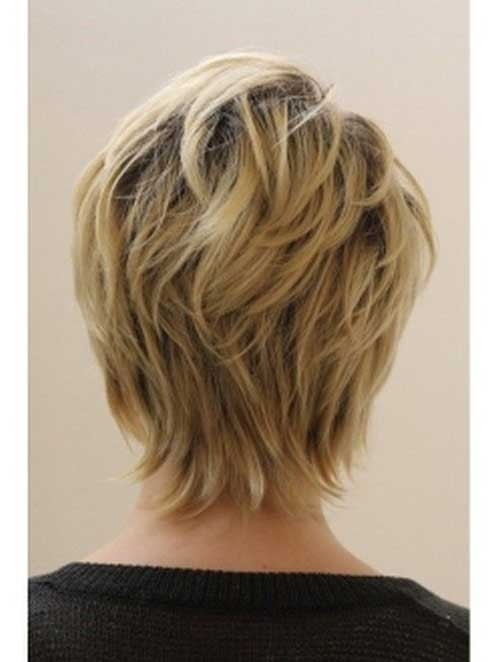 Back-View-of-Pixie Best Short Haircuts for Older Women