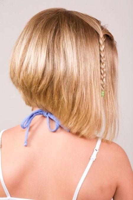 Blonde-Bob-Hair-1 Cute Short Haircuts for Girls