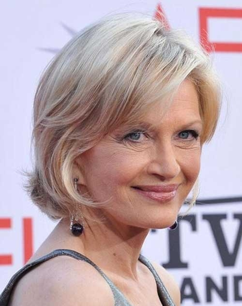 Blonde-Layered-Short-Hair-for-Women-Over-70 Best Short Haircuts For Women Over 70