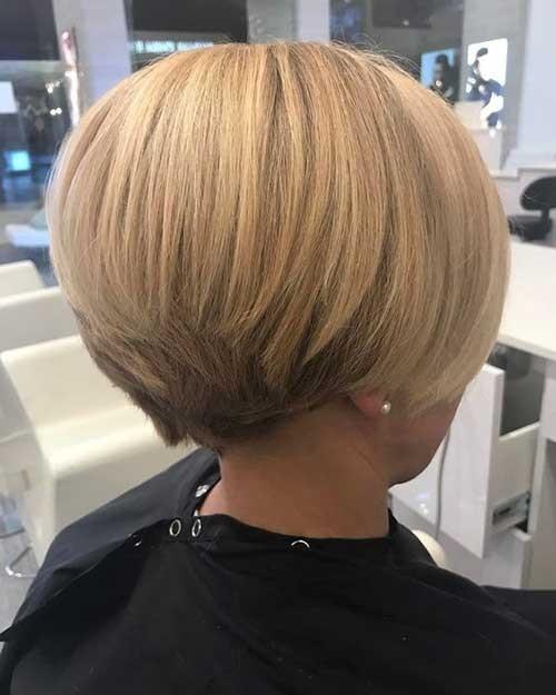 Blonde-Short-Bob-Hair Chic Short Bob Haircuts for 2018