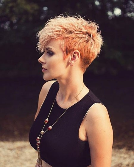 Bold-Haircut Short Trendy Hairstyles 2018