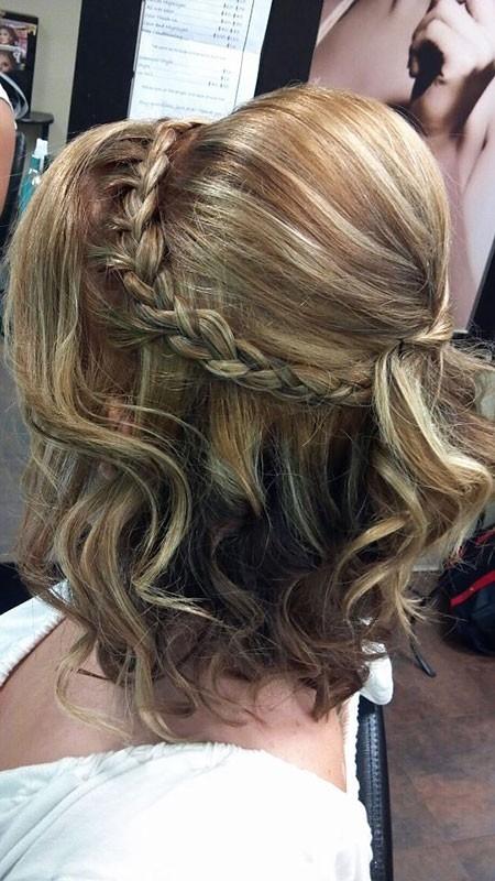 Braid-Hairtyle Wedding Hairstyles for Short Hair