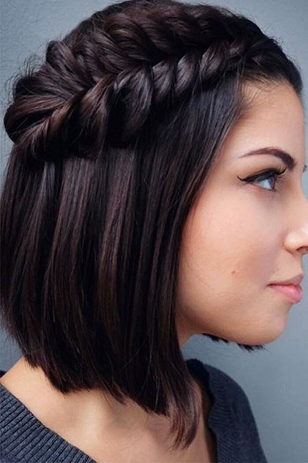 Braided-Black-Hair Easy Braids for Short Hair