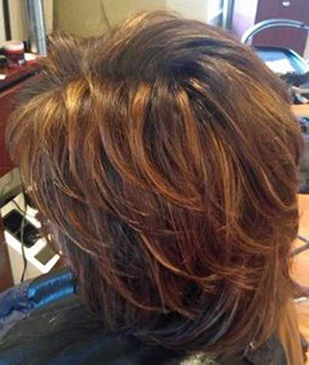 Brown-Hair-Color-1 New Short Layered Hairstyles 2018