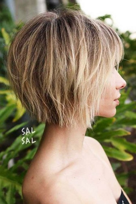 Comfortable-Haircut New Short Layered Hairstyles 2018