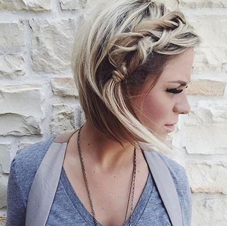 Comfortable-Style Easy Braids for Short Hair