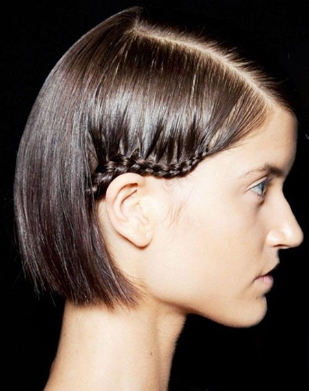 Cute-Braided-Hair Easy Braids for Short Hair