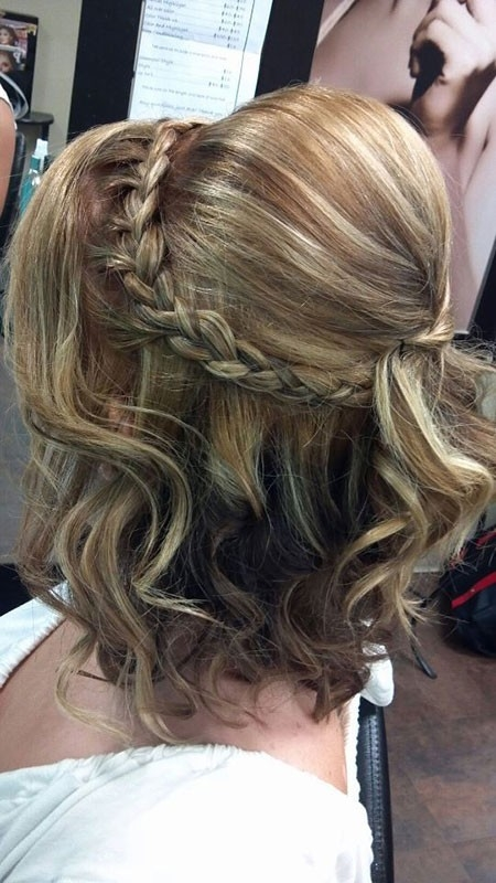 Cute-Prom-Hair-for-Short-Hair-4 Prom Hairstyles for Short Hair
