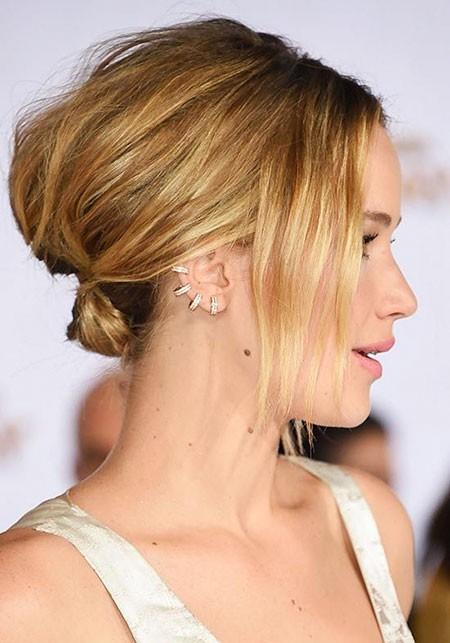 Cute-Straight-Hair Updo Hairstyles for Short Hair