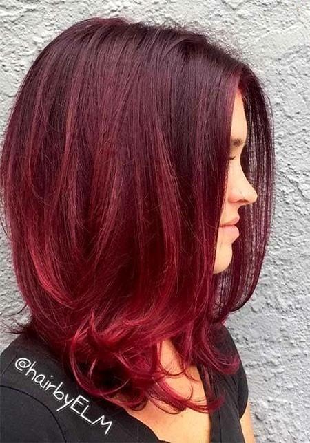 Hair-Colour-Red-Shades Short Red Hair Color Ideas