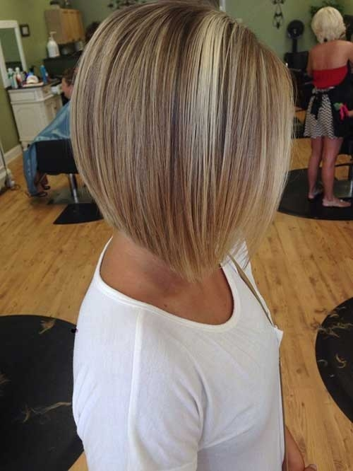 Inverted-Highlighted-Bob-Haircut Inverted Bob Haircuts