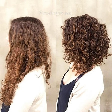 Long-Bob-Cuts Haircuts for Short Curly Hair
