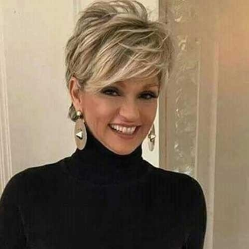 Long-Pixie-Hair-for-Older-Women Long Pixie Haircuts You Should See
