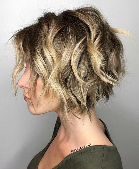 Messy-Layered-Hairstyle New Short Layered Hairstyles 2018