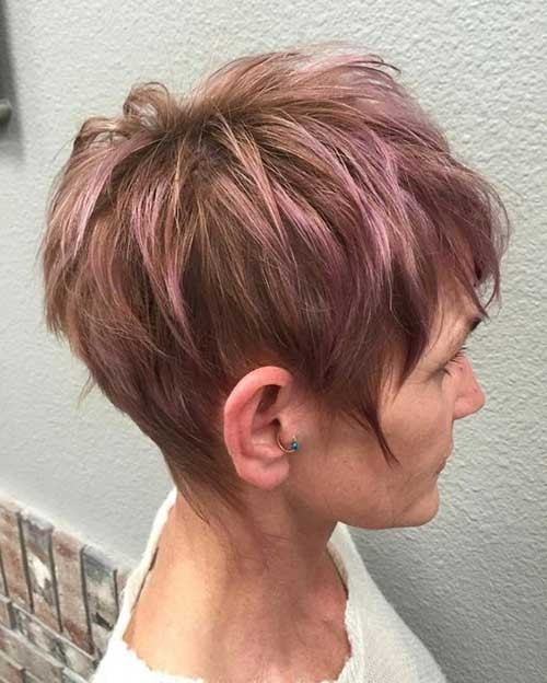 Pink-Pixie Long Pixie Haircuts You Should See
