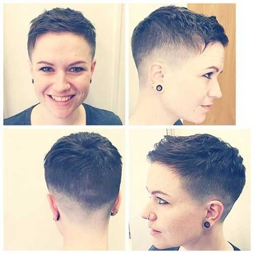 Pixie-Cut-Fade Superb Short Pixie Haircuts for Women