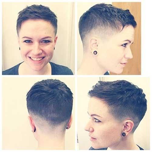 Pixie-Cut-Fade Superb Short Pixie Haircuts for Women