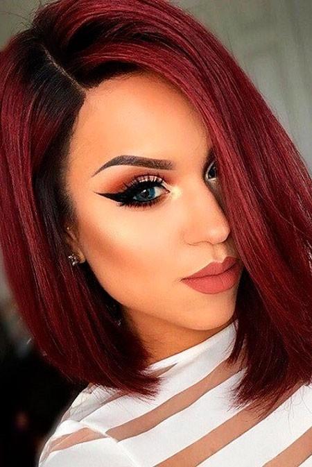 Red-Hair-Color-Short-Hair Short Red Hair Color Ideas