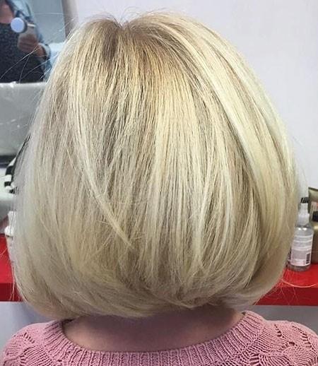 Round-Bob Cute Short Haircuts for Girls