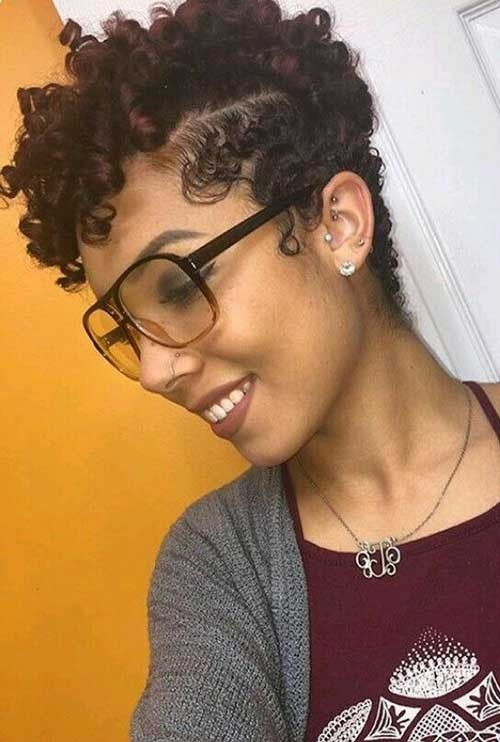 Short-Curly-Hair-Black-Women Best Short Haicuts for Black Women 2018
