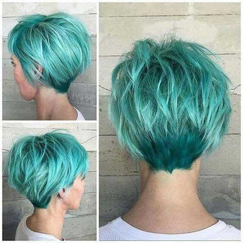 Short-Hair-Back Cute Girls Choice: Short Haircuts