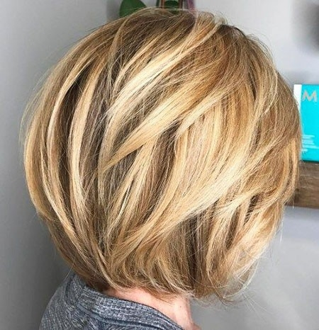 Short-Hair-with-Layers New Short Layered Hairstyles 2018
