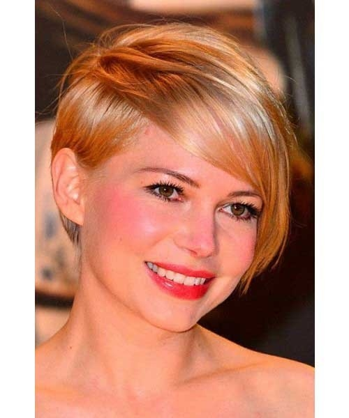 Short-Hairstyle-for-Heart-Shaped-Faces Cute Girls Choice: Short Haircuts