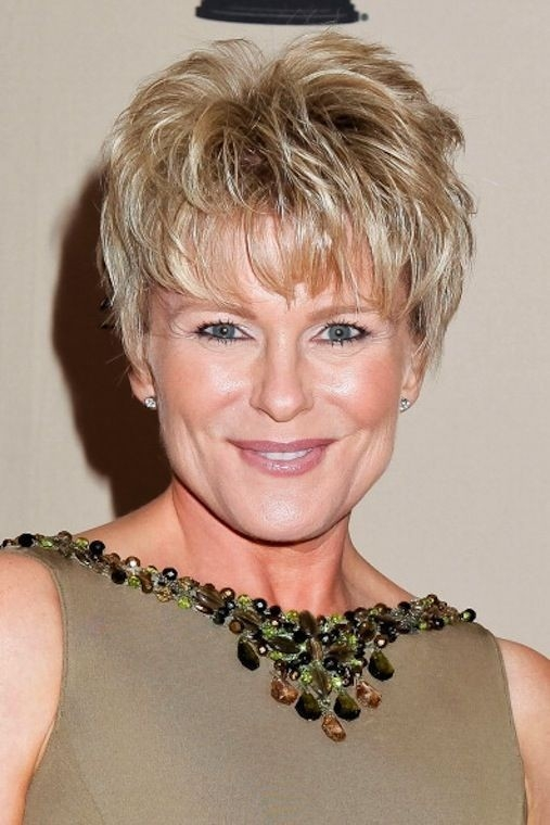 Short-Hairstyles-for-Square-Faces Gorgeous Short Hairstyles for Women over 50