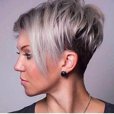 Short-Hairtyles-for-Round-Faces New Short Layered Hairstyles 2018