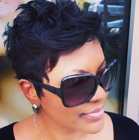 Short-Messy-Hair-1 New Short African Haircuts for Ladies
