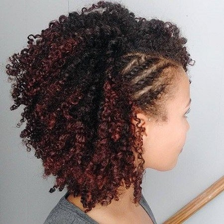 Small-Braided-Curls New Cute Hairstyles for Short Hair