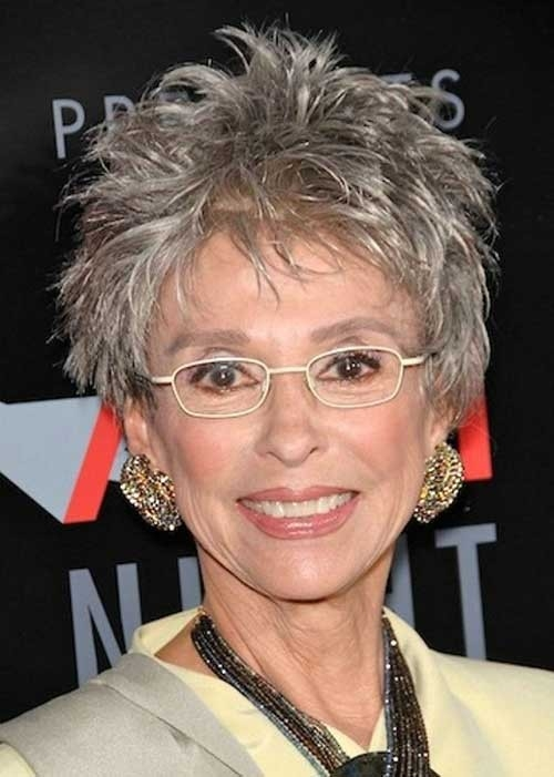 Spiky-Pixie-Haircut-for-Women-Over-70 Best Short Haircuts For Women Over 70