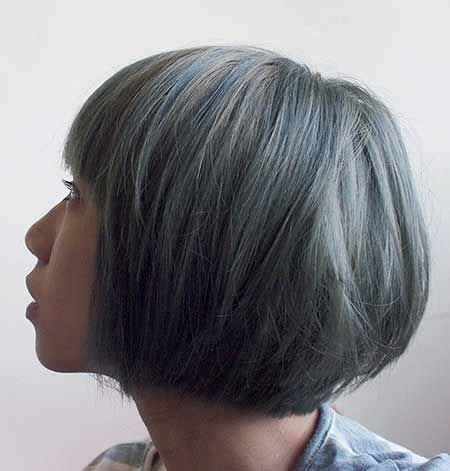 Straight-Bob-Hair New Short African Haircuts for Ladies