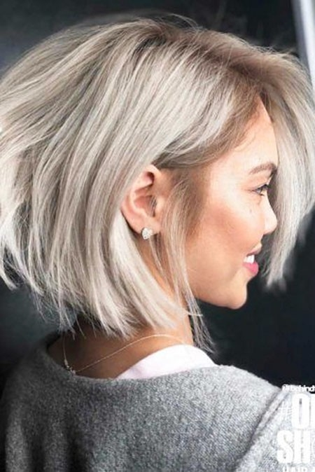 Super-Cute-Bob Great Short Hairstyles for Women 2018