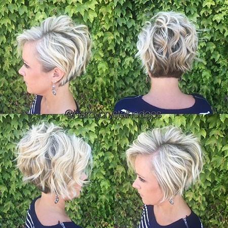 Wavy-Hairtyle Great Short Hairstyles for Women 2018
