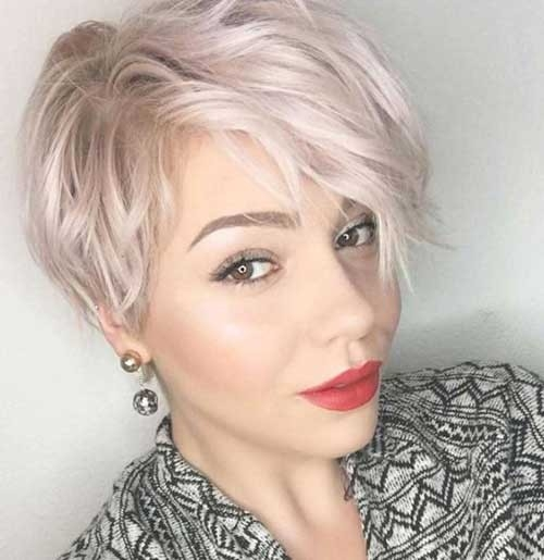Wavy-Long-Pixie Splendid Layered Short Haircuts for Ladies