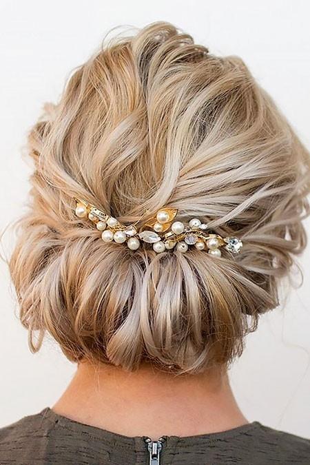 Wedding-Hairtyle-for-Short-Hair Wedding Hairstyles for Short Hair