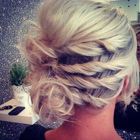 Wedding-Updo-Hair Wedding Hairstyles for Short Hair