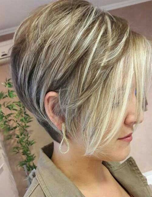 Ash-Blonde-Pixie-Bob Latest Bob Haircuts for 2018
